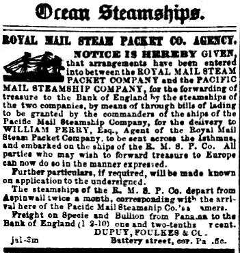Ocean Steamships.