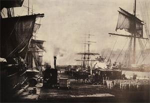 Fisherman's Wharf 1800s.