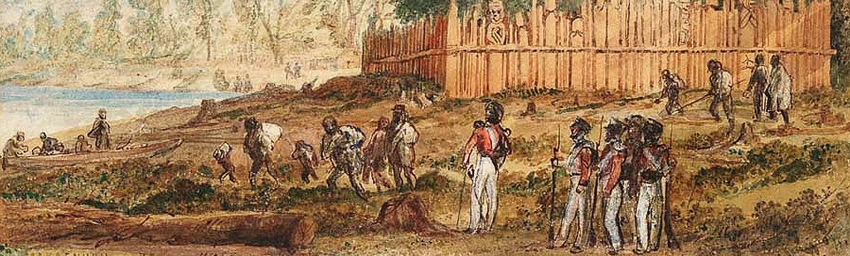 New Zealand 1800s.